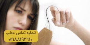 ۶ عامل ایجاد کننده ریزش مو